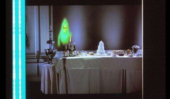 Fotogramas em película do filme GHOSTBUSTERS