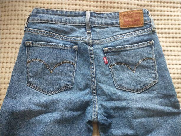 Spodnie dżinsowe Levi's oryginalne noszone dwa razy