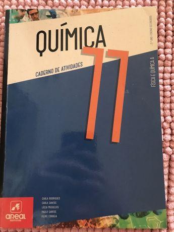 Caderno de atividades Química 11 ano