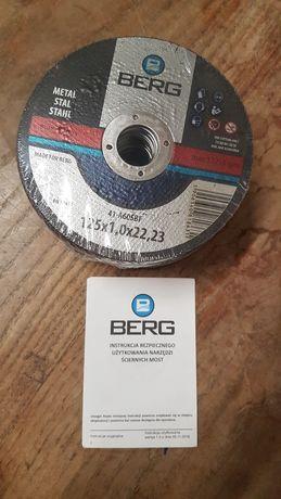 Tarcza do metalu Berg 125