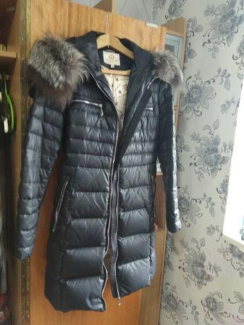 Пуховик, пальто, куртка женский р 48