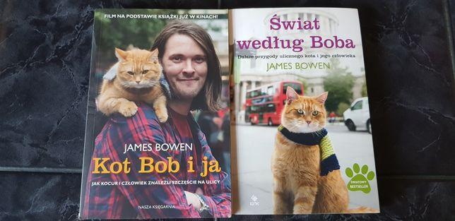 """James Bowen - """"Kot Bob i ja"""" oraz """"Świat według Boba"""""""