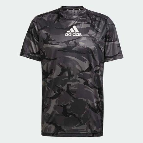Nowa koszulka Adidas Designed To Move Camouflage w rozmiarze 2XL