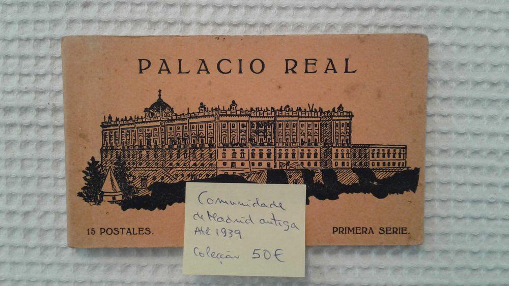 Coleção de 15 postais de Madrid 1939 Final da Guerra Civil Santo António dos Olivais - imagem 1