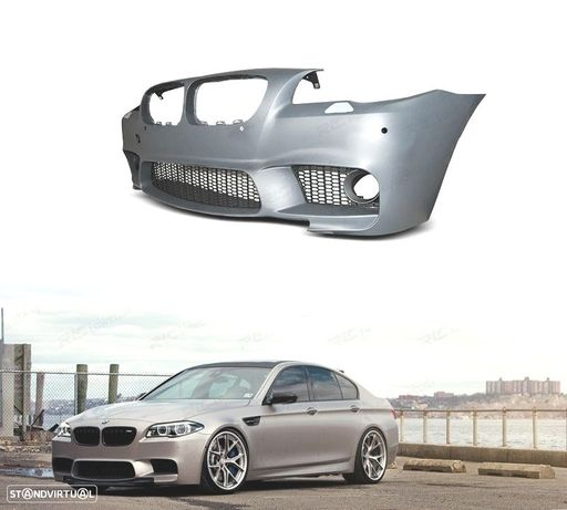 PARA-CHOQUES FRONTAL LOOK M5 BMW SERIE 5 F10 F11 10-15 / PDC E LAVA FARÓIS