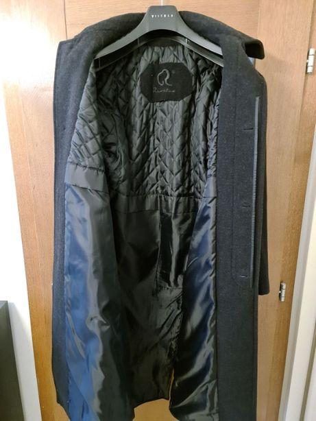 Płaszcz męski wełna z kaszmirem