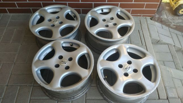 4 Felgi aluminiowe KBA 15 cali 4x100 ET37 7JJx15 Renault Megane Clio