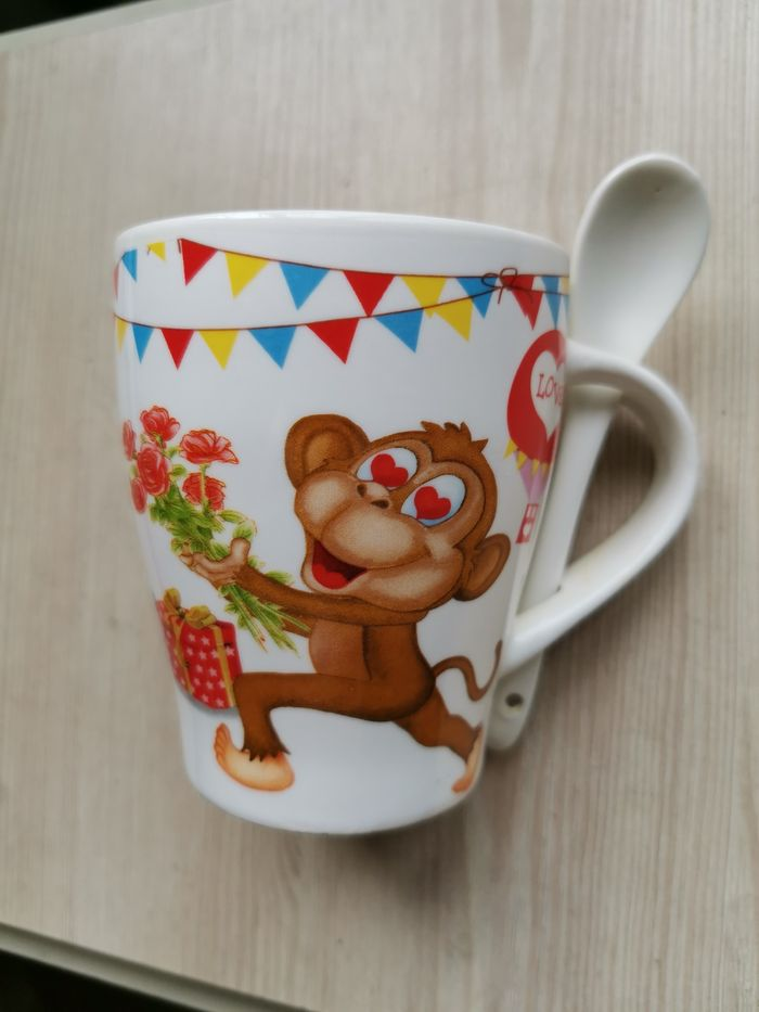 Чашка с ложечкой Черновцы - изображение 1