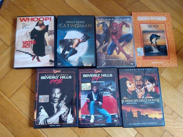 Gliniarz z Beverly Hills, Catwoman, Spidermann i inne DVD - ang.