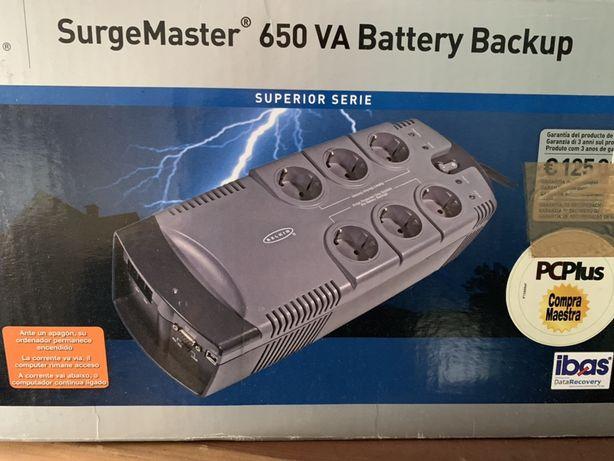 Bateria de emergência