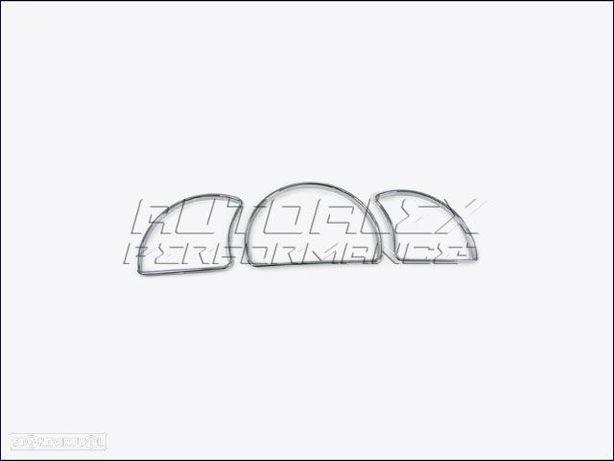 Anéis Quadrante KM Cromados Opel Astra F