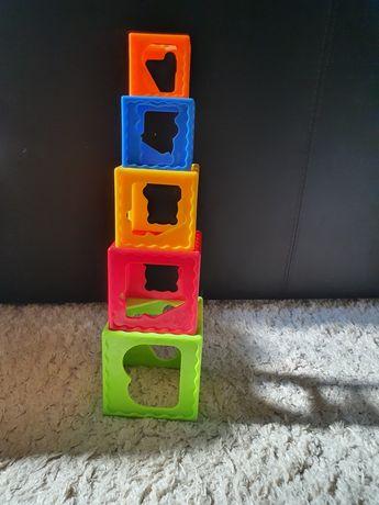 Пирамидка пластмассовая