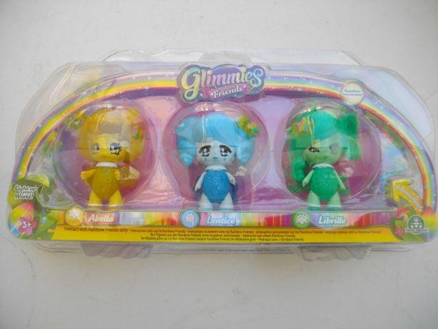 Brinquedo: Mini bonecas Friends Glimmies