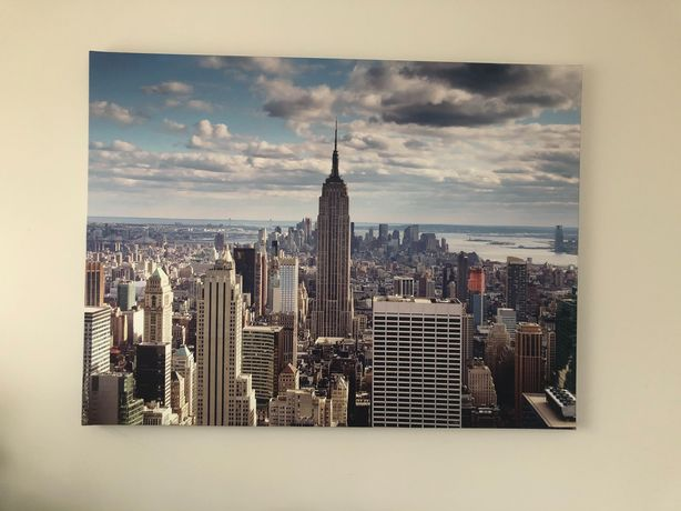 Obraz na płótnie Manhattan NYC 90x120