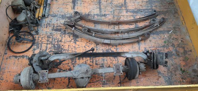 Газель,задний мост,передняя балка,рулевой механизм,ресоры