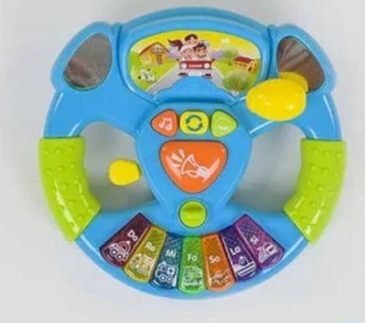 Музыкальная развивающая игрушка руль