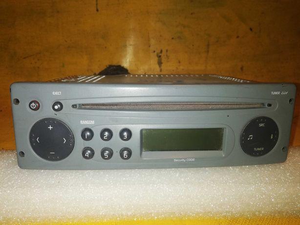 radio CD +kod Renault Twingo 1 Lift Kangoo 1 Lift Clio 2 Lift