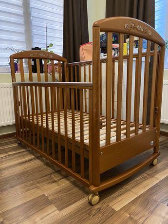 Детская кроватка Pali zoo с матрасом