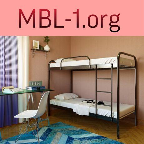 """Двухъярусная металлическая кровать """"Relax duo"""" 200х80 см. MBL-1.ORG"""