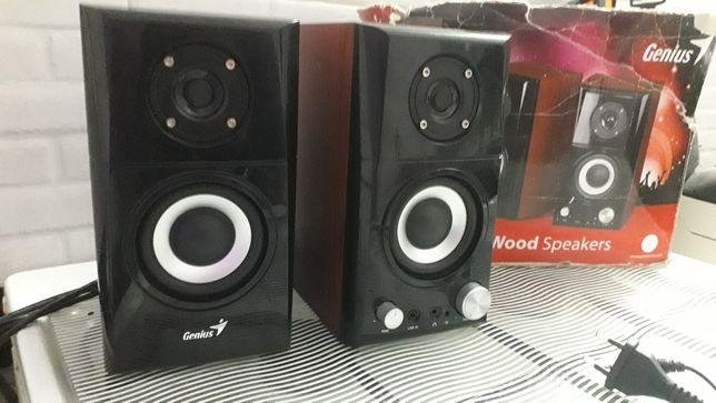 Glośniki Komputerowe Stereo 1+1  Jak Nowe 100% Sprawne