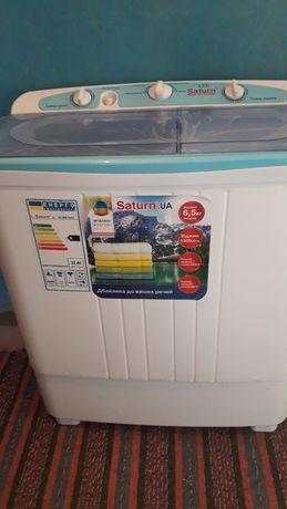 Срочно продам стиральную машину полуавтомат Saturn, 6.5 кг загрузка