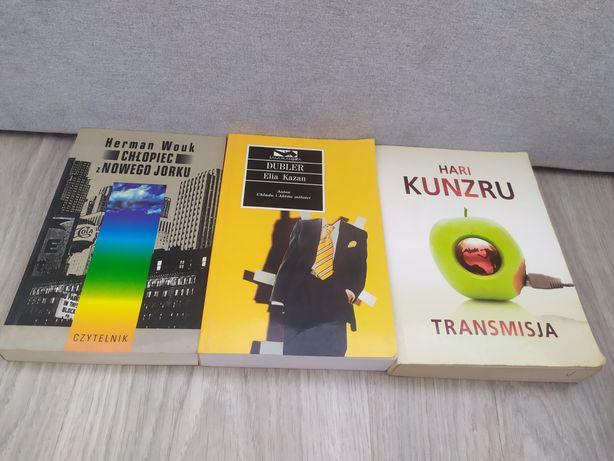 Komplet książek do czytania Dubler,Transmisja, Chłopiec z Nowego Jorku