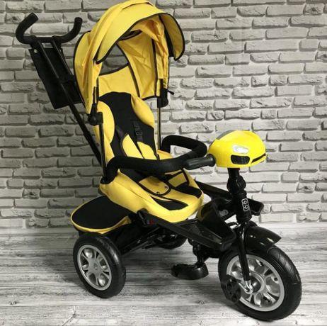 Дитячий триколісний велосипед Best Trike 5099 батьківська руч