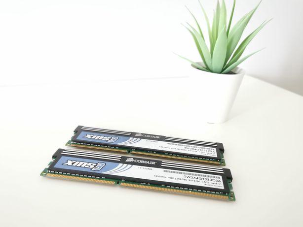 Memórias 4GB DDR3 1333mhz Corsair