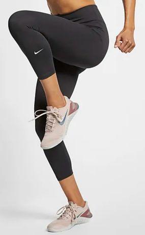 Leginsy Nike roz.S bluzka Craft roz.XS