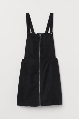 Spódnica na szelkach H&M 34 XS