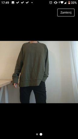 Bluza hm khaki oversize