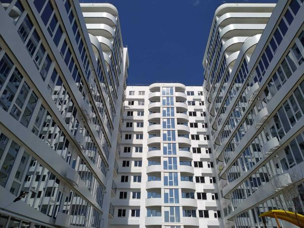 3 комнатная квартира с ТЕРРАСОЙ 100кв.м. и прямым видом на МОРЕ.ФОНТАН