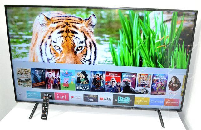 """Новый Телевизор Samsung 55"""" сo SmartTV T2 WiFi 4К (Без предоплаты)"""