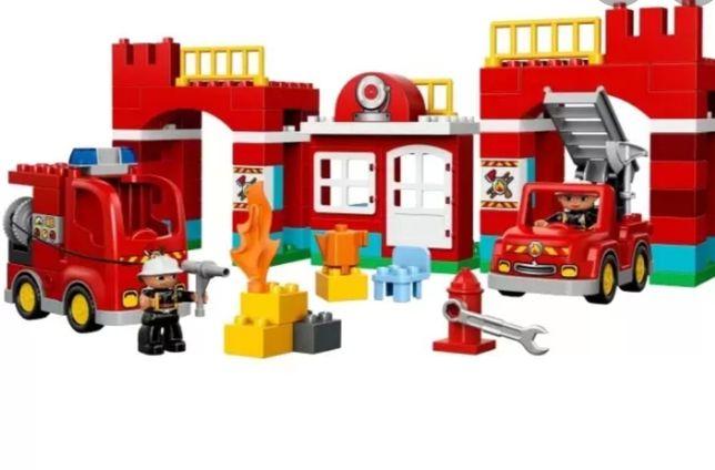 Пожарная часть Lego Duplo