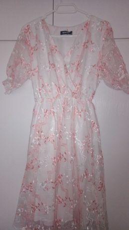 Vestido floral de sra tam 44 XL