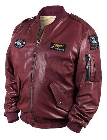 """Куртка """"бомбер"""" шкіряна нова"""