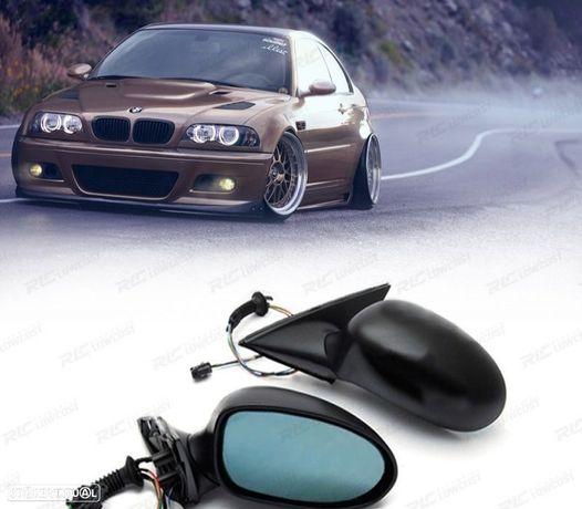 ESPELHOS RETROVISORES REBATÍVEIS / BMW SERIE 3 E46 COUPE LOOK M3