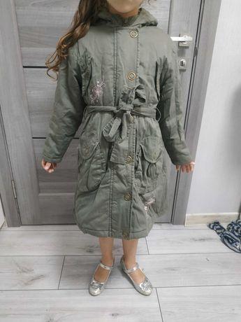 Куртка пальто демисезонные 116-128