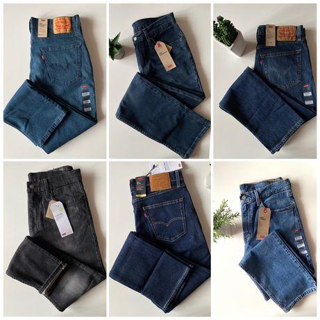 Мужские джинсы Levis 502, 505, 510, 511, 512, 514, 541