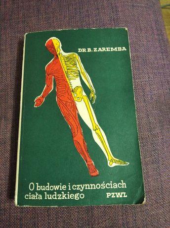 o budowie i czynnościach ludzkiego ciała Dr.B.Zaremba