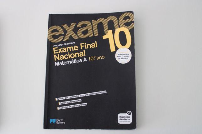 Livro de Preparação para Exame Matemática A 10⁰ ano