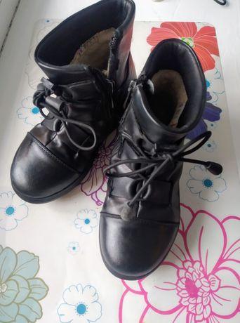 Ботиночки Зима кожа 350 грн.