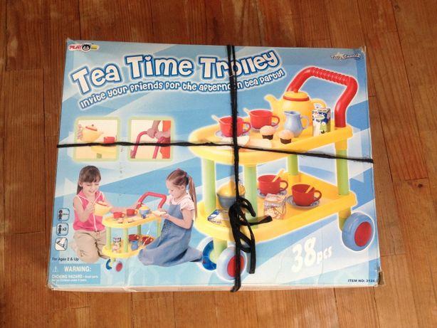 Carrinho de chá de brincar