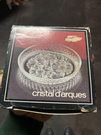 Conjunto de seis Bases para copos Cristal D'Arques