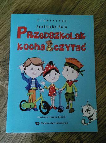 Przedszkolak kocha czytać - Agnieszka Bala- rezerwacja