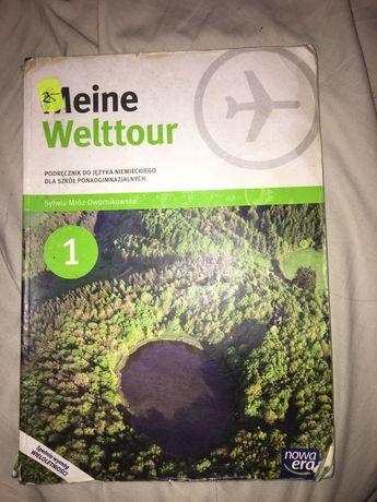 Meine Welttour 1 podrecznik do niemieckiego