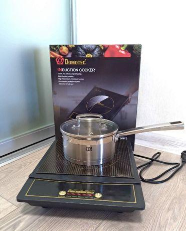 Domotec MS-5832 Новая индукционная плита однокомфорочная Домотек