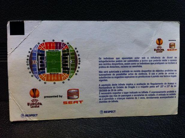 Bilhete FC Porto vs Villarreal - Liga Europa