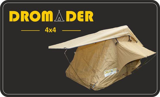 Namiot dachowy Dromader 4x4 w miękkiej obudowie 120