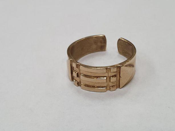 Pierścień Atlantów/ Złoto 585/ 4.6 gram/ R15/ Lite złoto/ Gdynia